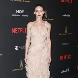 Rooney Mara en la fiesta de Netflix tras la entrega de los Globos de Oro 2016