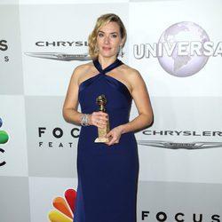 Kate Winslet en la fiesta de NBC tras la entrega de los Globos de Oro 2016