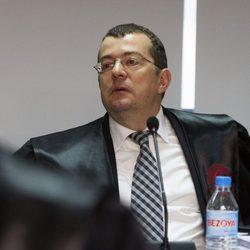 Manuel González Peeters en la primera sesión del juicio por el Caso Nóos