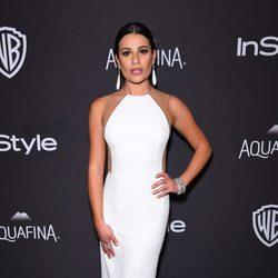 Lea Michele en la fiesta de InStyle tras la entrega de los Globos de Oro 2016