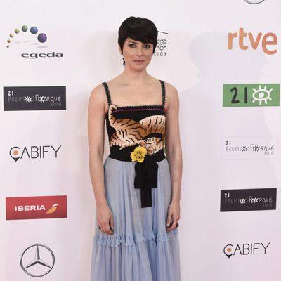 Bárbara Lennie en los Premios José María Forqué 2016