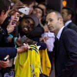Andrés Iniesta en la entrega del Balón de Oro 2015