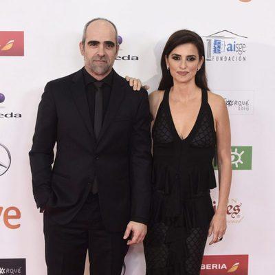 Penélope Cruz y Luis Tosar en los Premios José María Forqué 2016