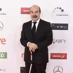 Antonio Resines en los Premios José María Forqué 2016