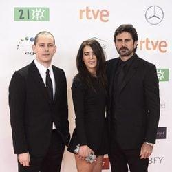 Bebe y Hernan Zin en los Premios José María Forqué 2016