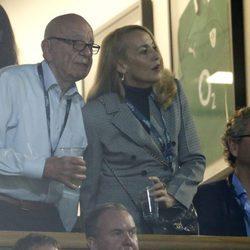 Primera imagen de Rupert Murdoch y Jerry Hall juntos