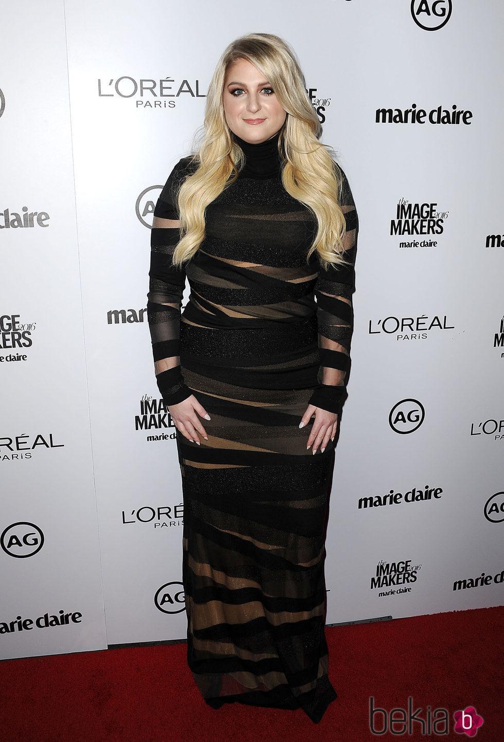 Meghan Trainor en los Premios Marie Claire 2016 en Los Angeles