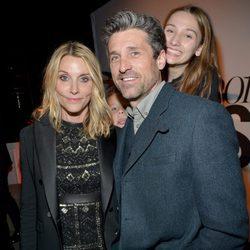 Patrick Dempsey y Jillian Dempsey en los Premios Marie Claire 2016 en Los Angeles