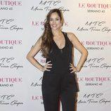 Lorena Van Heerde en la presentación de la colección de zapatos de María Teresa Campos
