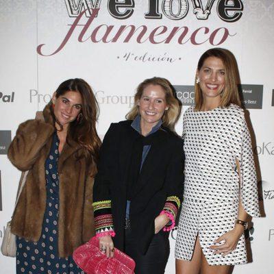 Laura Sánchez con Fiona Ferrer y Lourdes Montes en We Love Flamenco 2016