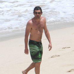 Patrick Dempsey con el torso desnudo