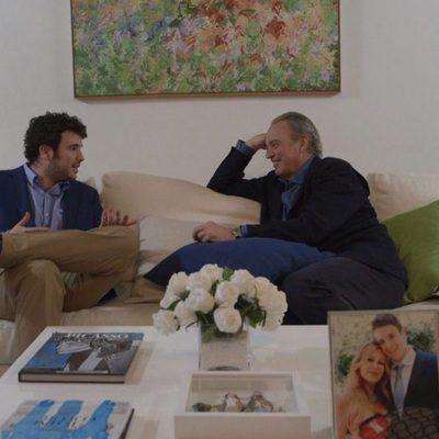 Álex Lequio con Bertín Osborne en el programa 'En tu casa o en la mía'