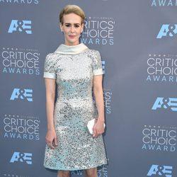Sarah Paulson en los Critics' Choice Awards 2016