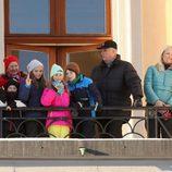 La Familia Real Noruega en las celebraciones por el 25 aniversario del reinado de Harald de Noruega