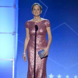 Sharon Stone durante la gala de los Critics' Choice Awards 2016