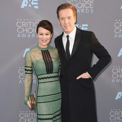 Damian Lewis y Helen McCrory en los Critics' Choice Awards 2016