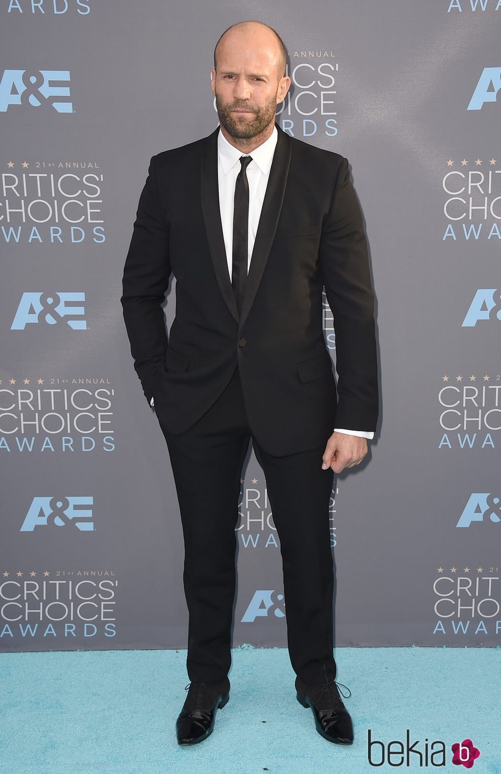 Jason Statham en los Critics' Choice Awards 2016