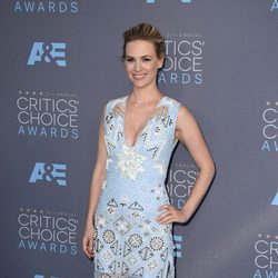 January Jones en los Critics' Choice Awards 2016