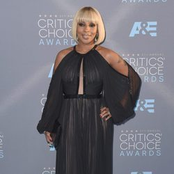 Mary J. Blige en los Critics' Choice Awards 2016