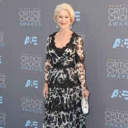 Helen Mirren en los Critics' Choice Awards 2016