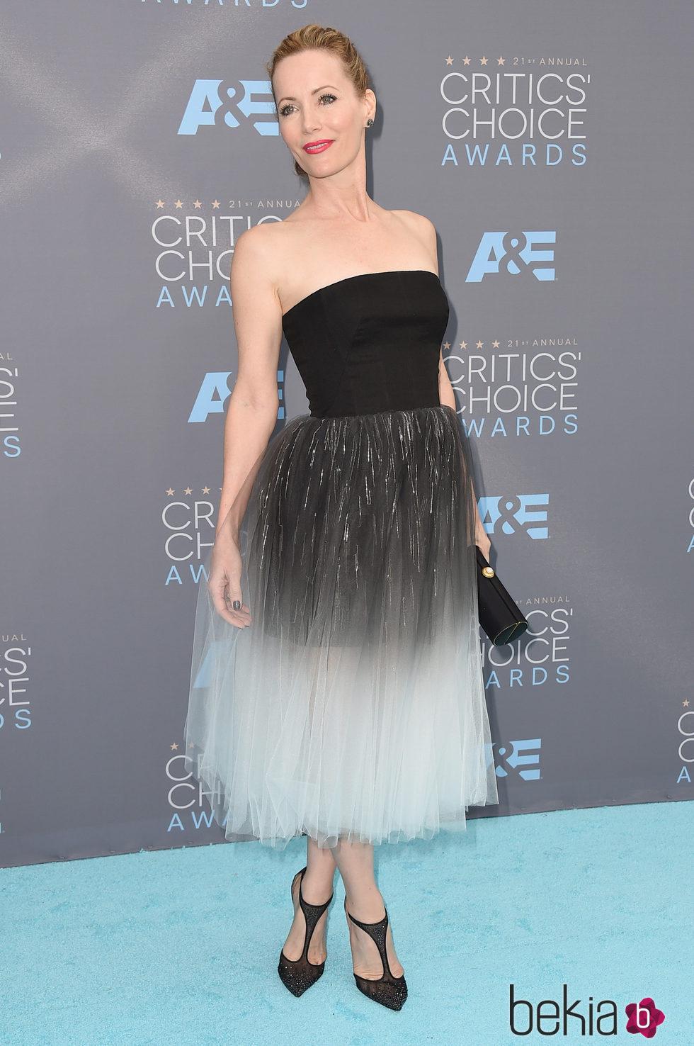 Leslie Mann en los Critics' Choice Awards 2016