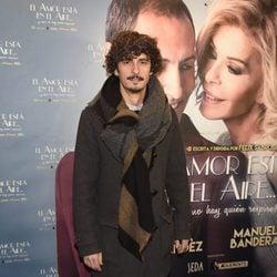 Antonio Pagudo en el estreno de la obra 'El amor está en el aire'