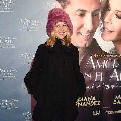 Pilar Castro en el estreno de la obra 'El amor está en el aire'