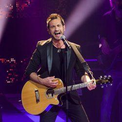 David de María durante uno de sus conciertos