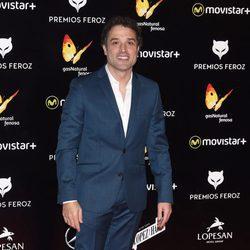 Daniel Guzmán en la alfombra roja de los Premios Feroz 2016