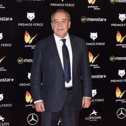 Tito Valverde en la alfombra roja de los Premios Feroz 2016