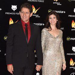 Pedro Casablanc en la alfombra roja de los Premios Feroz 2016