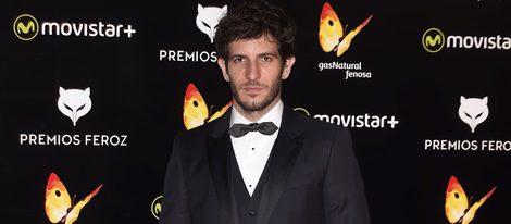 Quim Gutiérrez en la alfombra roja de los Premios Feroz 2016