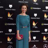 Fanny Gautier en la alfombra roja de los Premios Feroz 2016