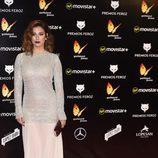 Blanca Suárez en la alfombra roja de los Premios Feroz 2016
