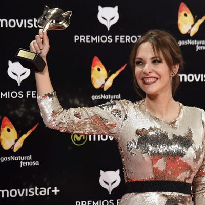 Paula Ortiz con su Premio Feroz 2016