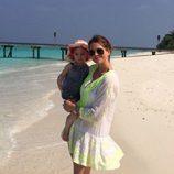 Magdalena de Suecia y su hija Leonor en Maldivas