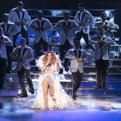 Jennifer Lopez estrena su show 'All I Have' en Las Vegas