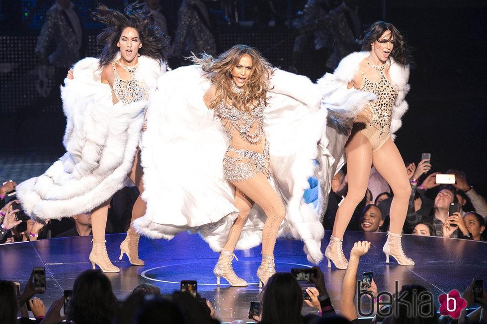 Jennifer Lopez presenta su nuevo show 'All I Have' en Las Vegas