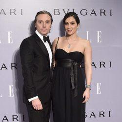 Israel Bayón y Cristina Sainz en la fiesta del 40 cumpleaños de Eugenia Silva