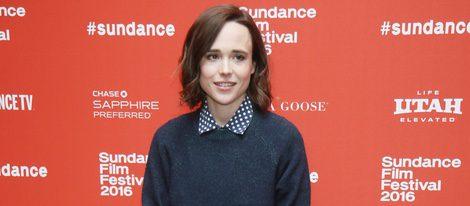 Ellen Page en el Festival de Sundance 2016