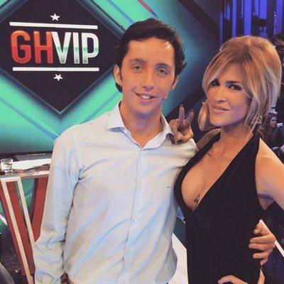 Ylenia con Francisco Nicolás en el debate de 'Gran Hermano VIP'