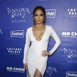 Jennifer Lopez en el estreno de su espectáculo 'All I Have' en Las Vegas