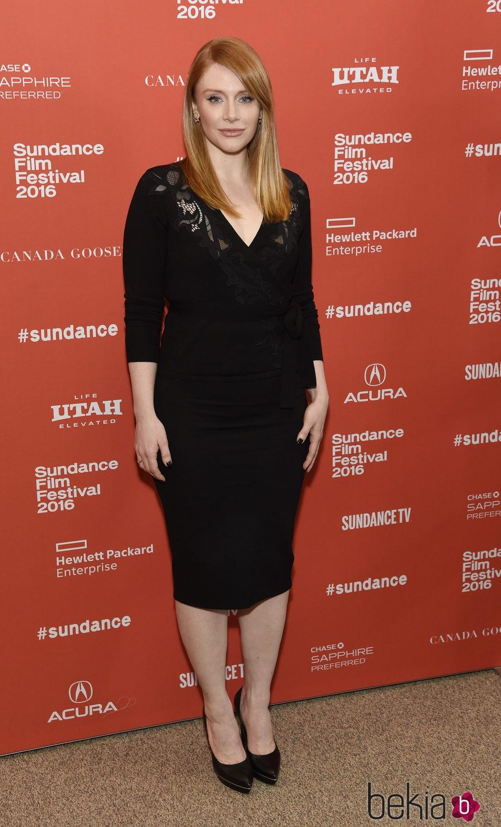 Bryce Dallas Howard en el Festival de Sundance 2016