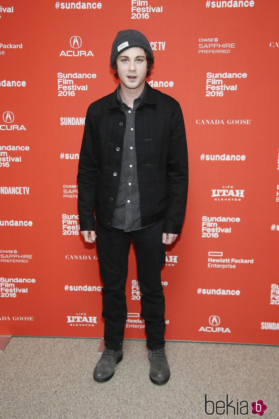 Logan Lerman en el Festival de Sundance 2016