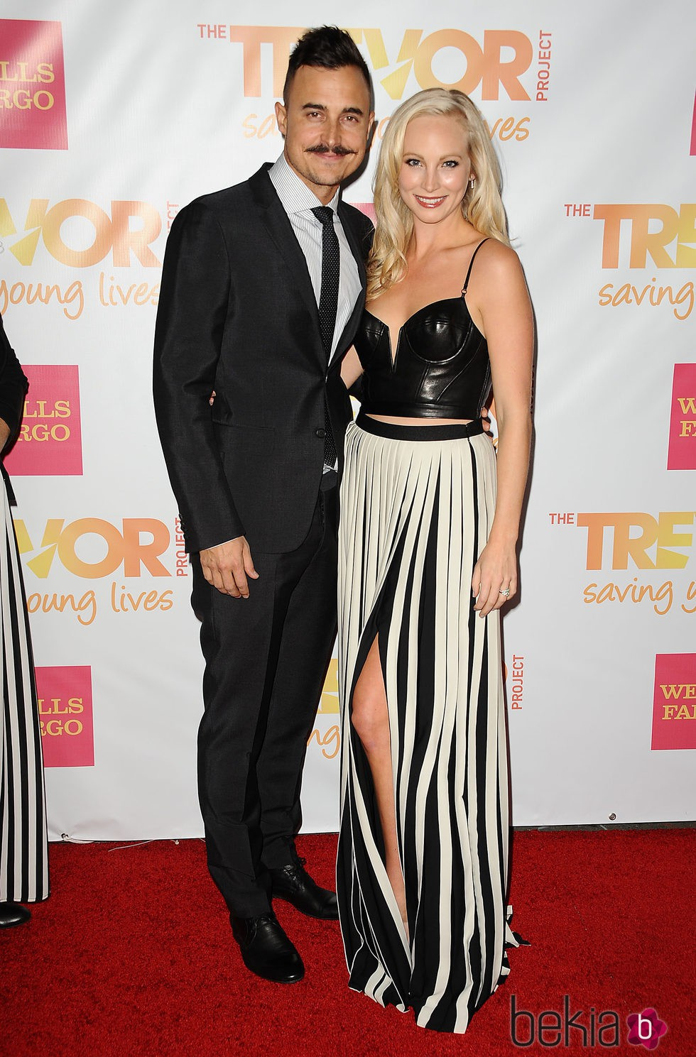 Candice Accola y Joe King en la Gala Trevor 2014 de Los Angeles
