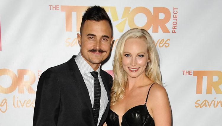 Candice Accola y Joe King en la Gala Trevor 2014 de Los Angeles