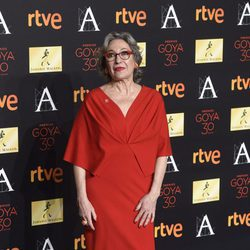Luisa Gavasa en la cena de los nominados a los Premios Goya 2016