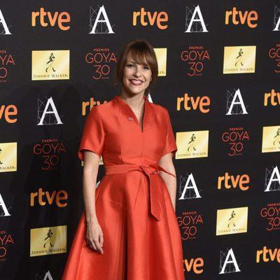 Paula Ortiz en la cena de los nominados a los Premios Goya 2016