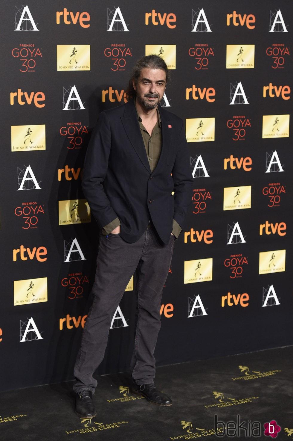 Fernando León de Aranoa en la cena de los nominados a los Premios Goya 2016
