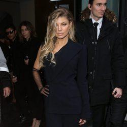 Fergie en el desfile de Jean Paul Gaultier en la Semana de la Alta Costura de París primavera/verano 2016
